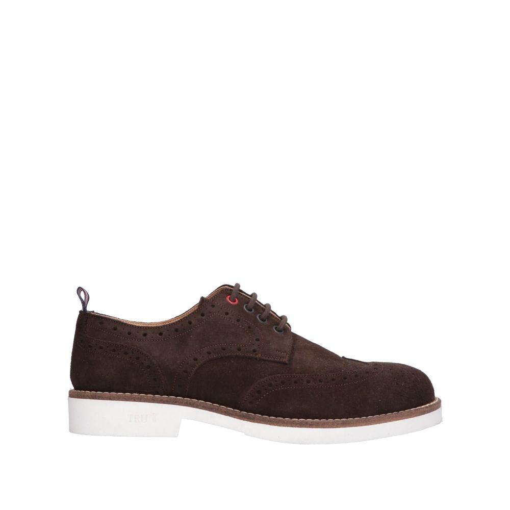 トラサルディ TRU TRUSSARDI メンズ シューズ・靴 【laced shoes】Dark brown