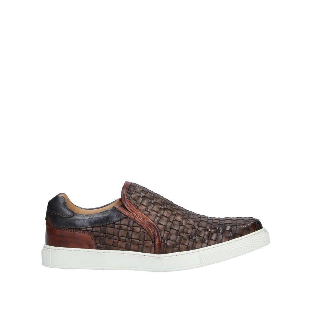 ブレコス BRECOS メンズ スニーカー シューズ・靴【sneakers】Dark brown