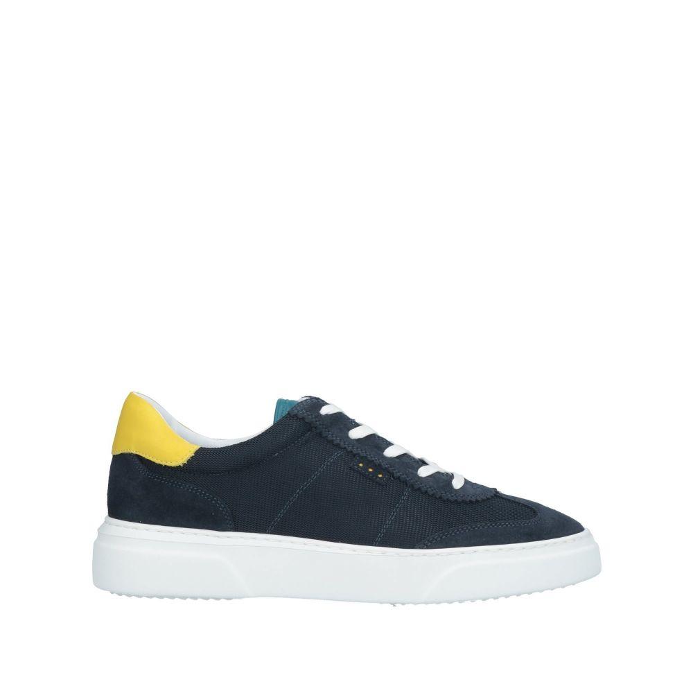 クアトロバラドディッチ QUATTROBARRADODICI メンズ スニーカー シューズ・靴【sneakers】Blue