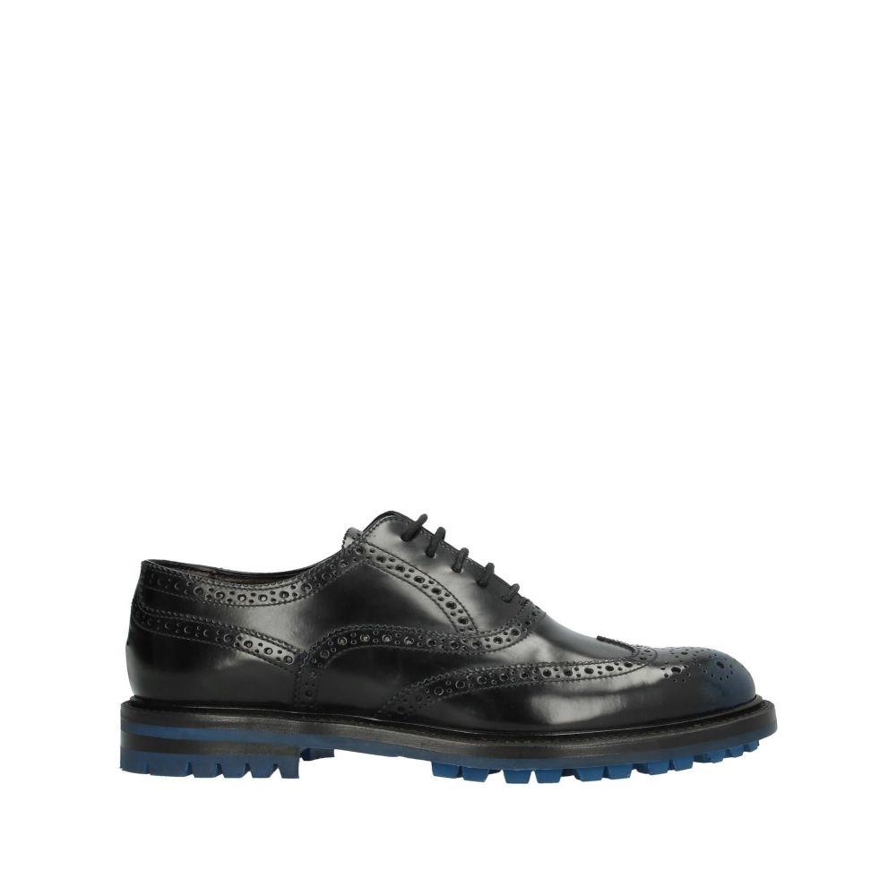 オルティーニ ORTIGNI メンズ シューズ・靴 【laced shoes】Black