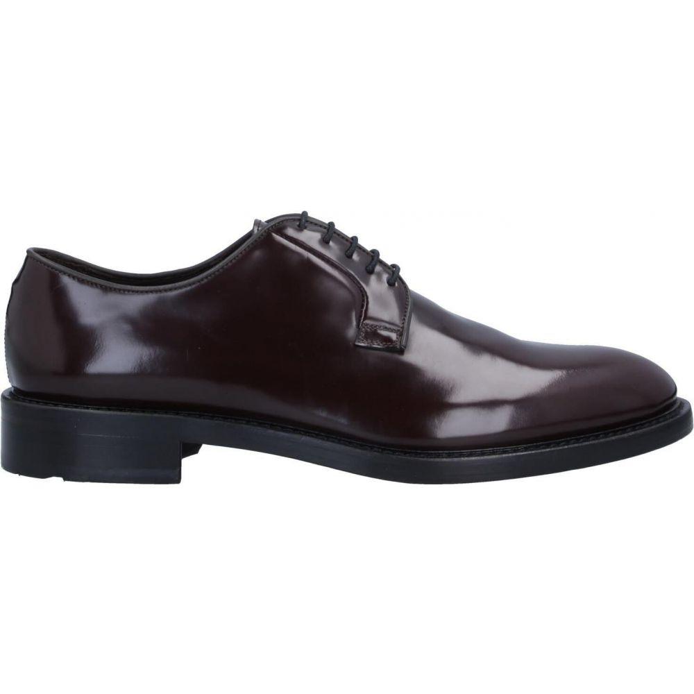 J.J. メンズ シューズ・靴 【laced shoes】Dark brown