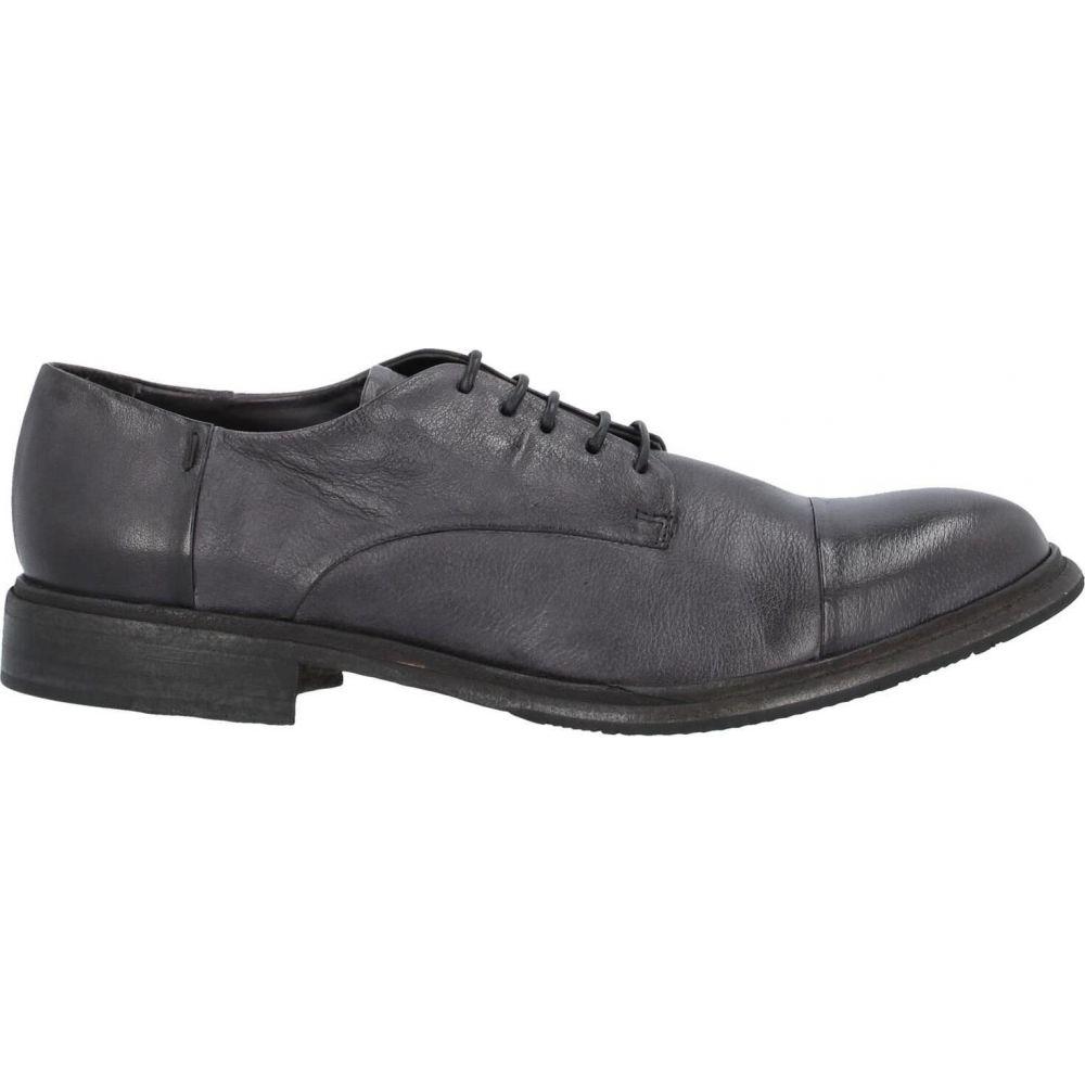 アーネストドラーニ ERNESTO DOLANI メンズ シューズ・靴 【laced shoes】Steel grey