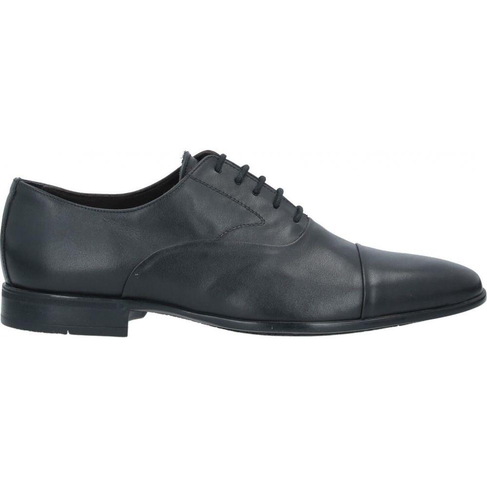 アレッサンドロ デラクア ALESSANDRO DELL'ACQUA メンズ シューズ・靴 【laced shoes】Black