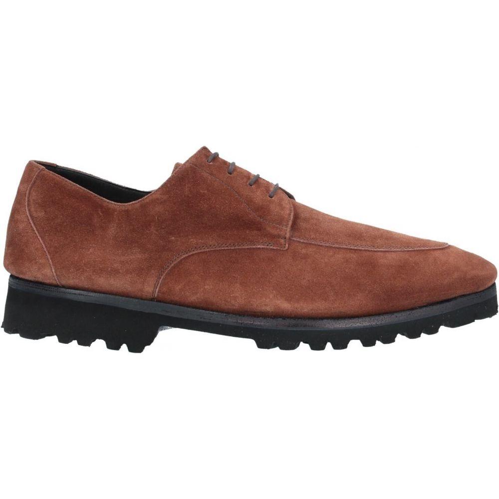 ア テストーニ A.TESTONI メンズ シューズ・靴 【laced shoes】Brown