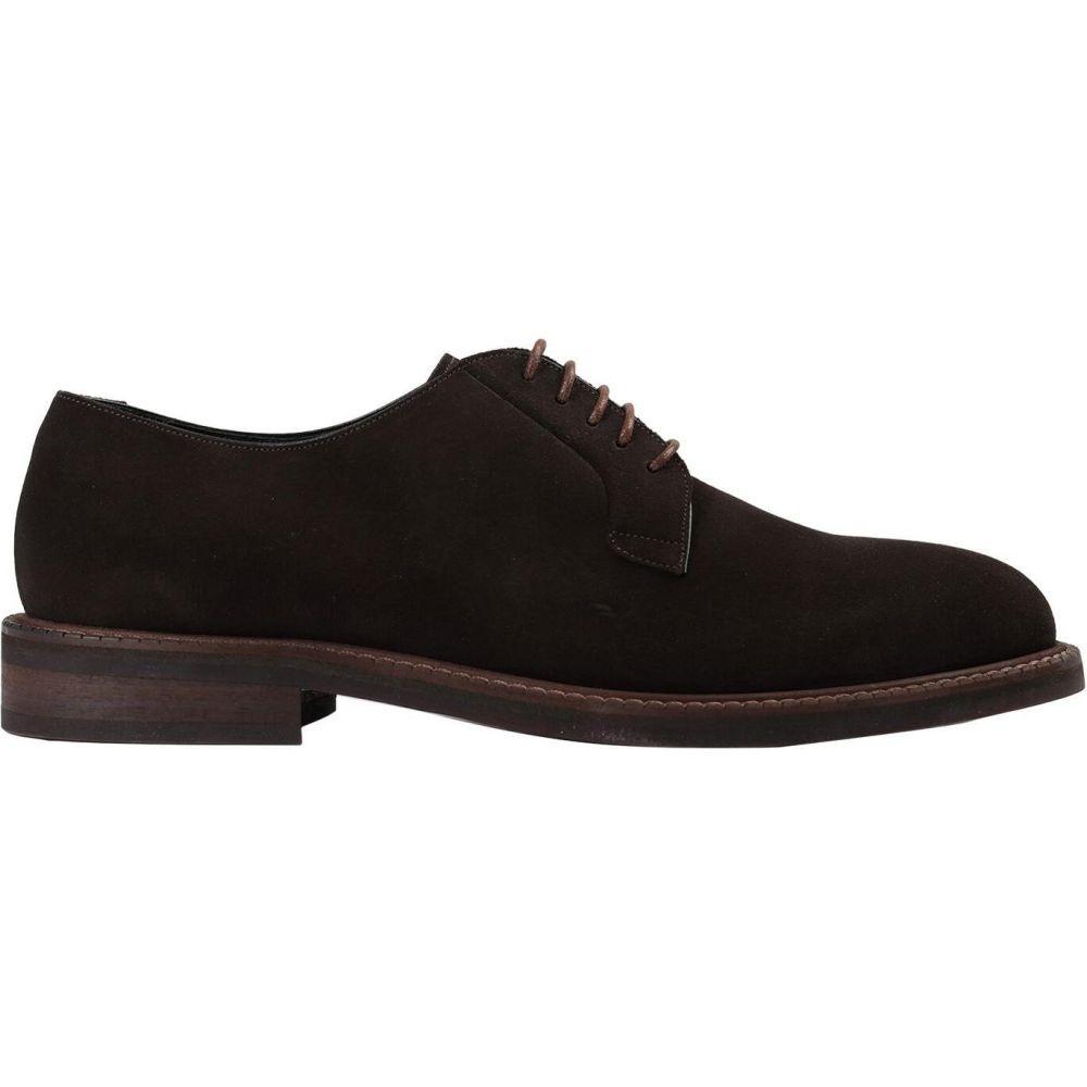 アルティジャーノ ヴェネト ARTIGIANO VENETO メンズ シューズ・靴 【laced shoes】Dark brown