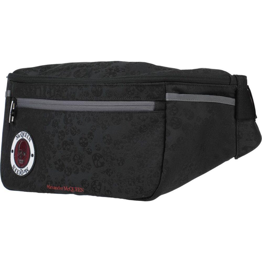 アレキサンダー マックイーン ALEXANDER MCQUEEN メンズ バッグ 【backpack & fanny pack】Black