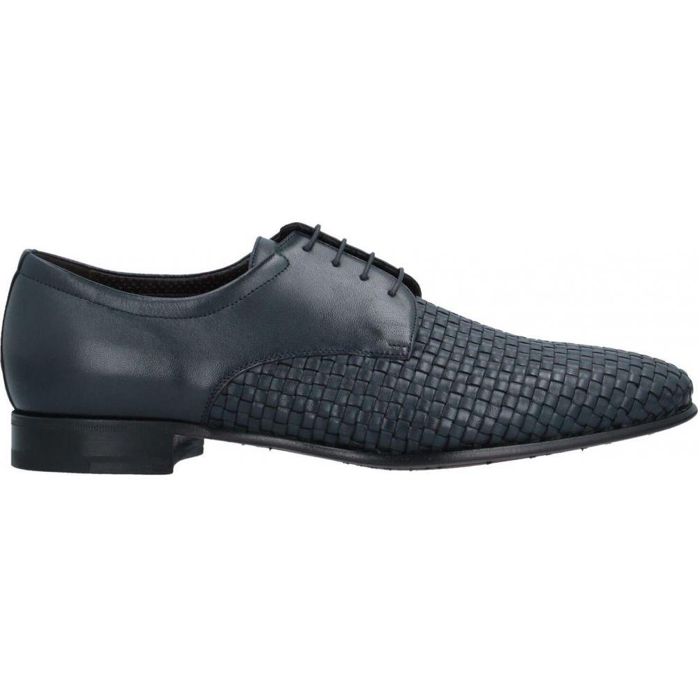 ア テストーニ A.TESTONI メンズ シューズ・靴 【laced shoes】Dark blue