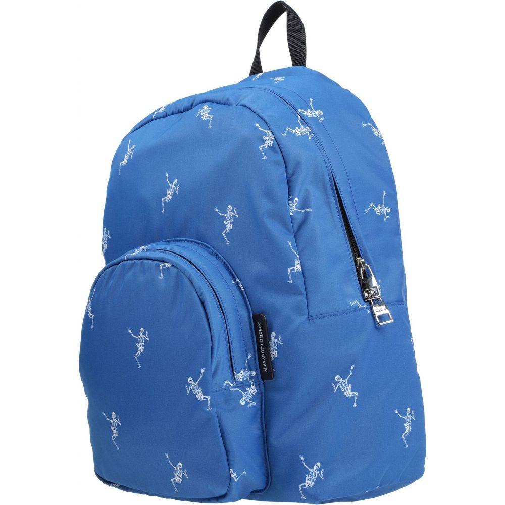アレキサンダー マックイーン ALEXANDER MCQUEEN メンズ バッグ 【backpack & fanny pack】Blue