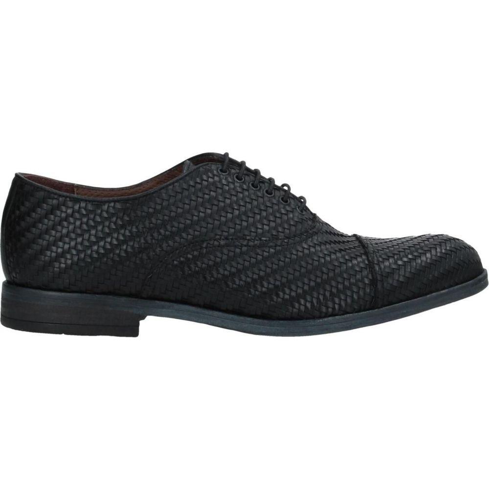MFW コレクション MFW COLLECTION メンズ シューズ・靴 【laced shoes】Black