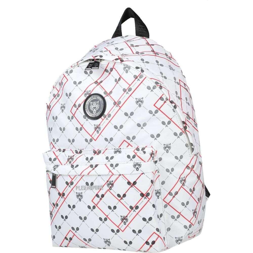 プレイン スポーツ PLEIN SPORT メンズ バッグ 【backpack & fanny pack】White