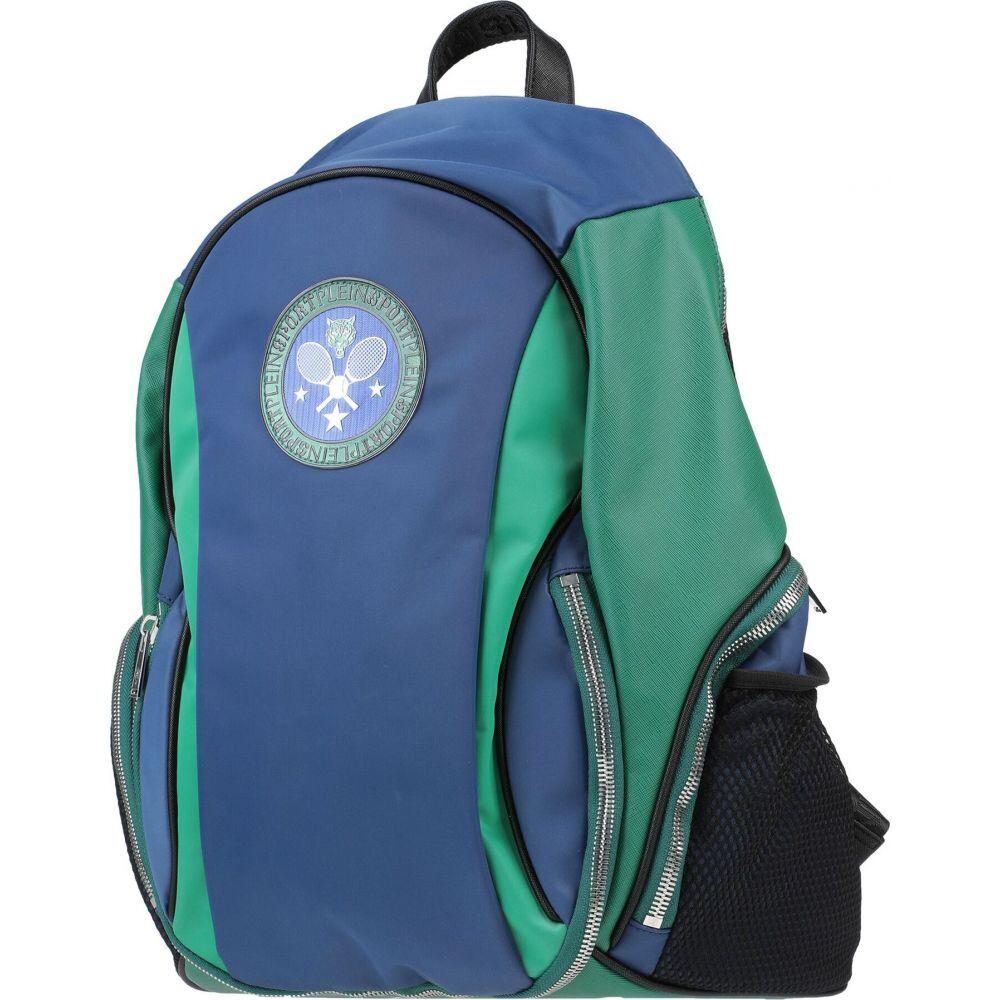 プレイン スポーツ PLEIN SPORT メンズ バッグ 【backpack & fanny pack】Slate blue