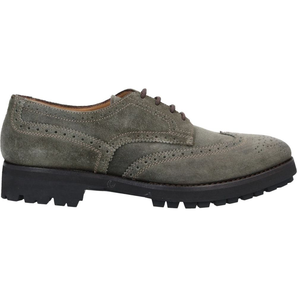 ヘンダーソン バラッコ HENDERSON BARACCO メンズ シューズ・靴 【laced shoes】Military green