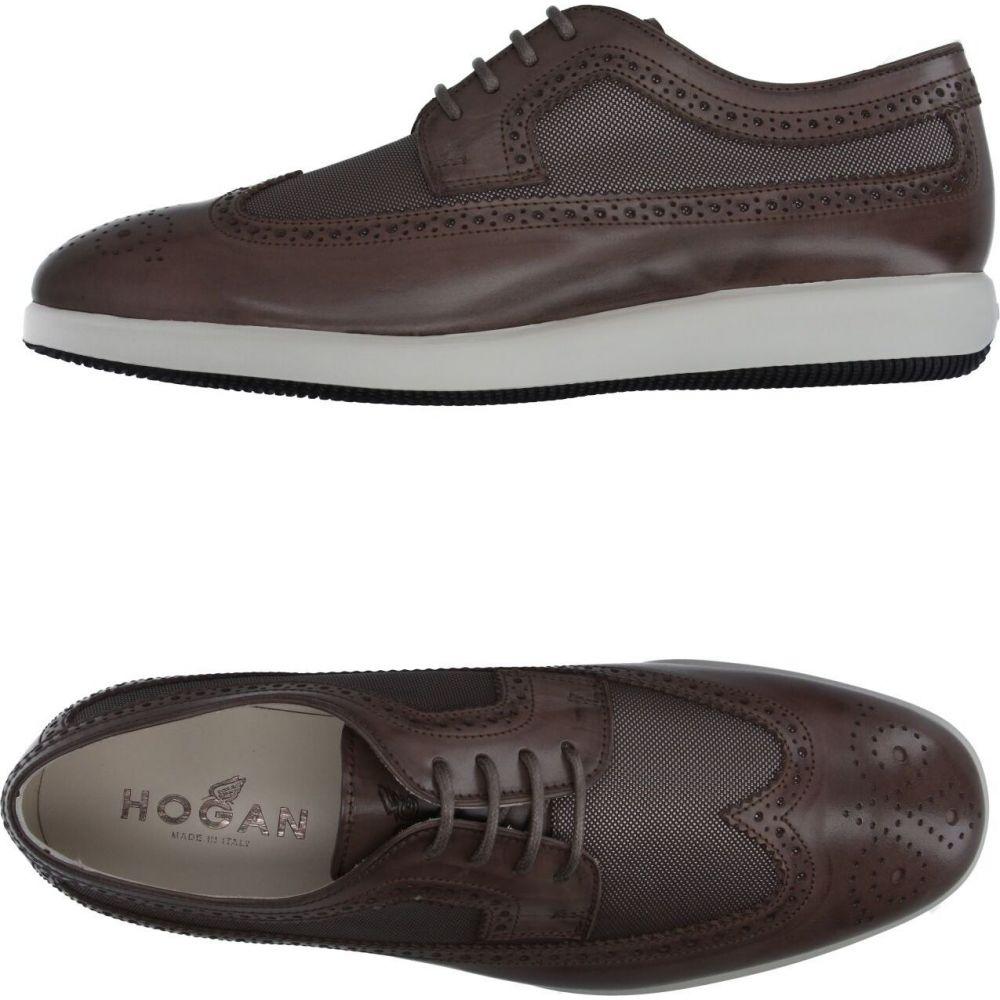 ホーガン HOGAN メンズ シューズ・靴 【laced shoes】Khaki
