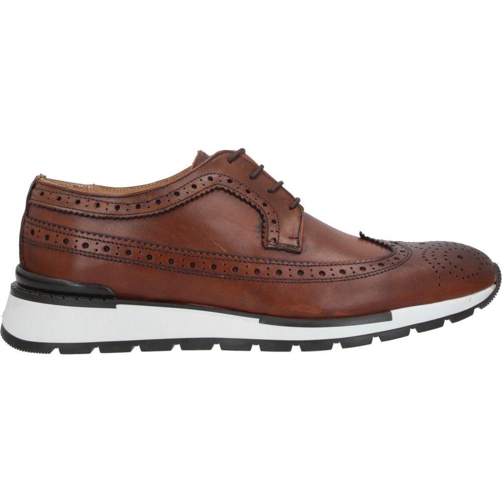 ベリー BRUNO VERRI メンズ シューズ・靴 【laced shoes】Tan