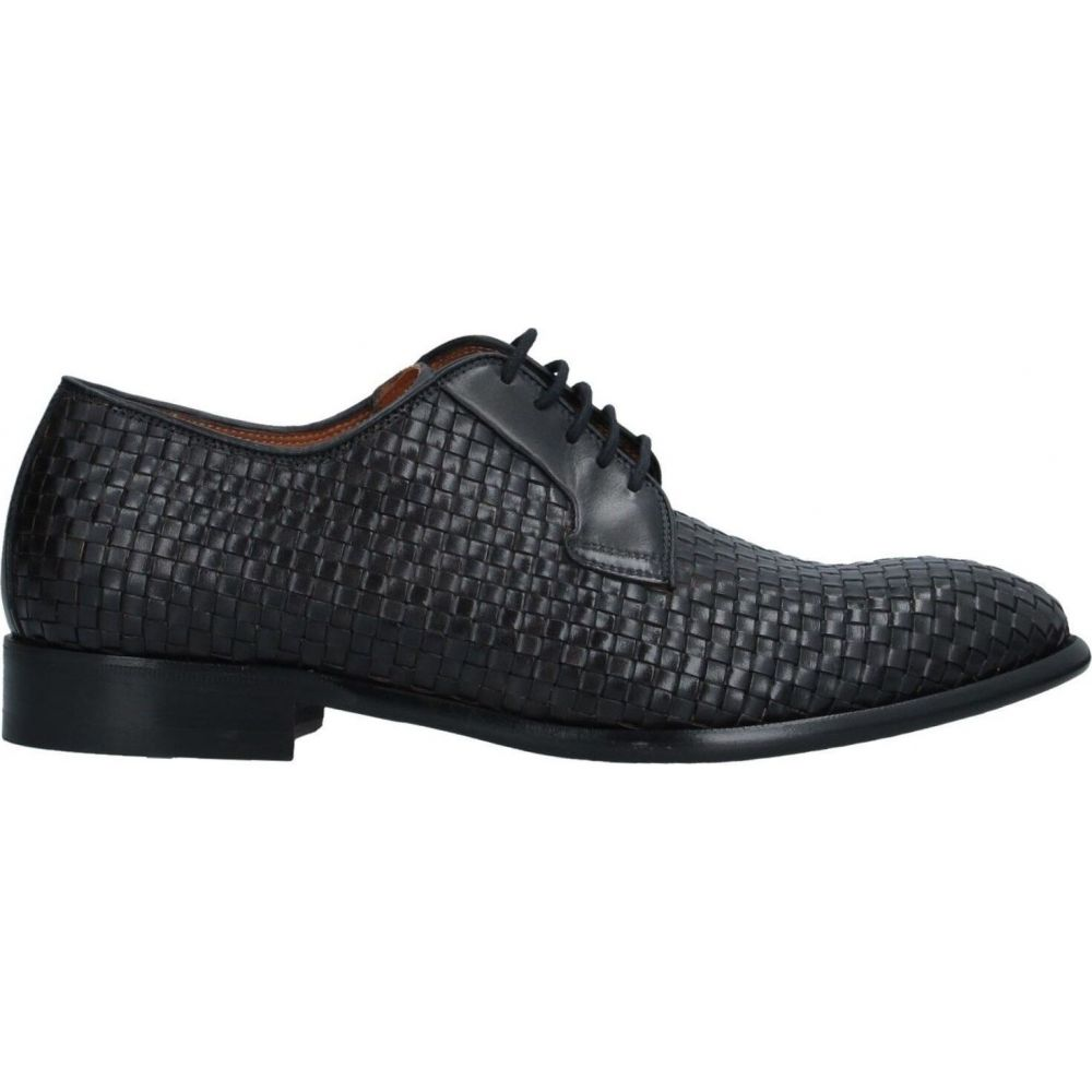 ボッティ BOTTI メンズ シューズ・靴 【laced shoes】Black