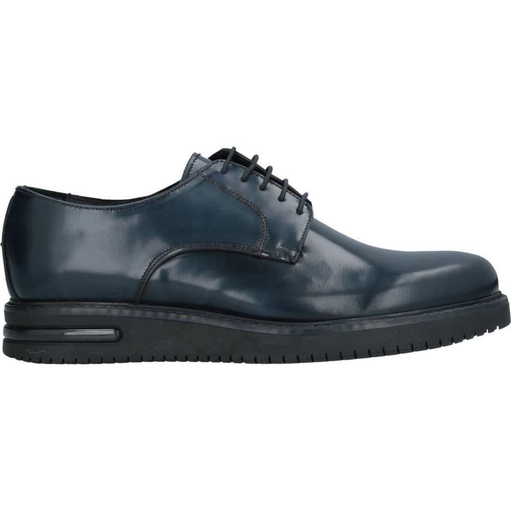 ベリー BRUNO VERRI メンズ シューズ・靴 【laced shoes】Dark blue