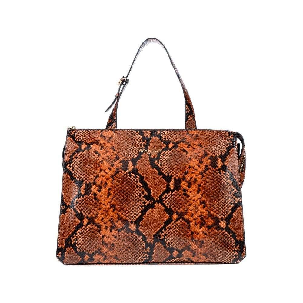 ロシャス ROCHAS レディース ハンドバッグ バッグ【handbag】Brown