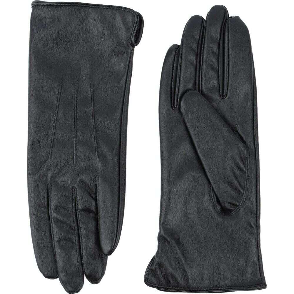 トラサルディ レディース ファッション小物 手袋・グローブ Black 【サイズ交換無料】 トラサルディ TRUSSARDI JEANS レディース 手袋・グローブ 【Glove】Black