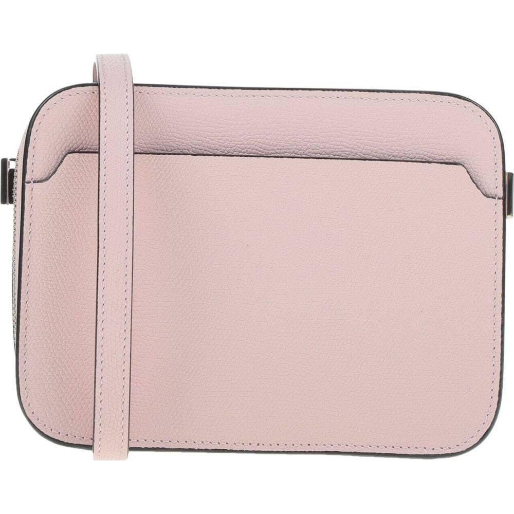 ヴァレクストラ VALEXTRA レディース ショルダーバッグ バッグ【Cross-Body Bag】Pink