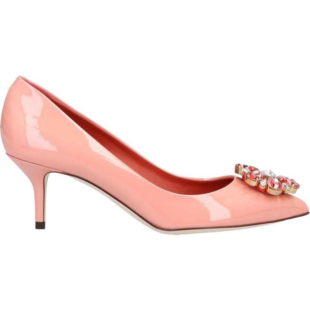 ドルチェ&ガッバーナ DOLCE & GABBANA レディース パンプス シューズ・靴【Pump】Salmon pink