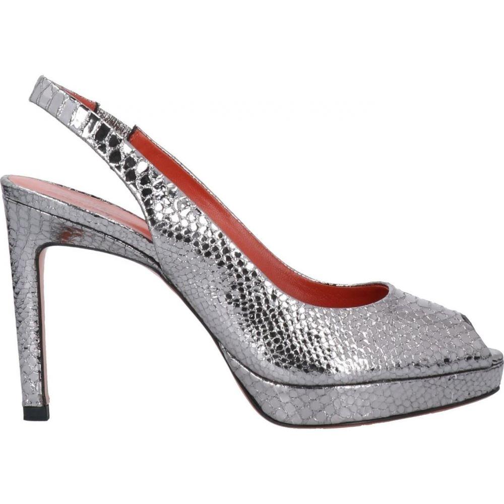 サントーニ SANTONI レディース サンダル・ミュール シューズ・靴【Sandal】Silver
