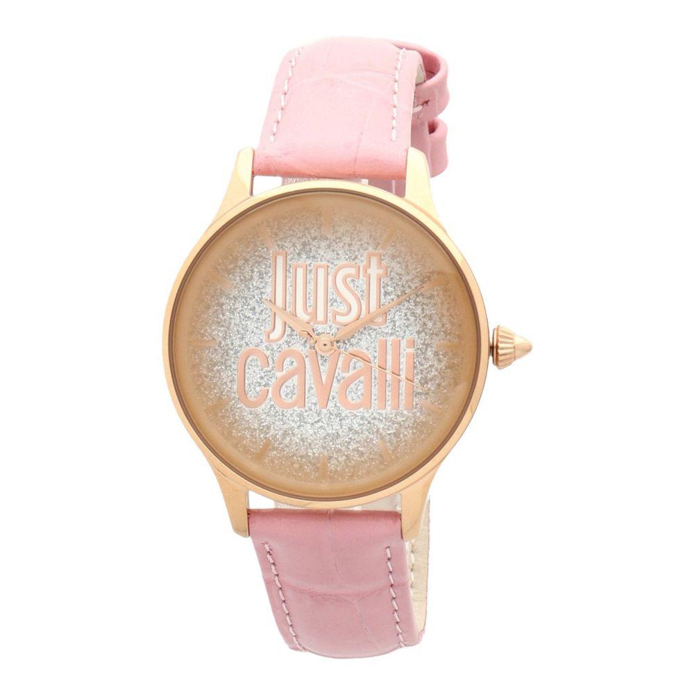 ジャストカヴァッリ JUST CAVALLI レディース 腕時計 【logo wrist watch】Pink