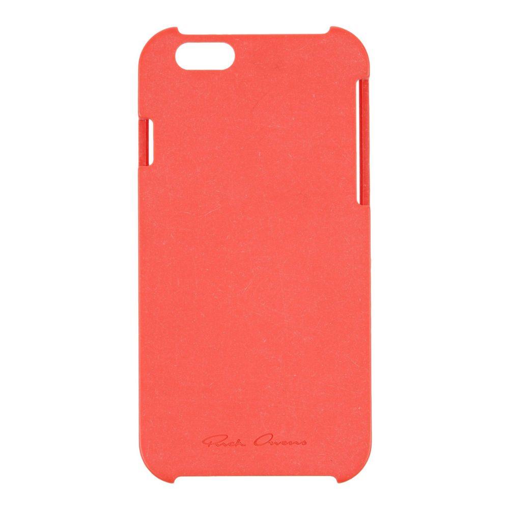 リック オウエンス RICK OWENS レディース iPhoneケース 【iphone 5/5s/se cover】Red