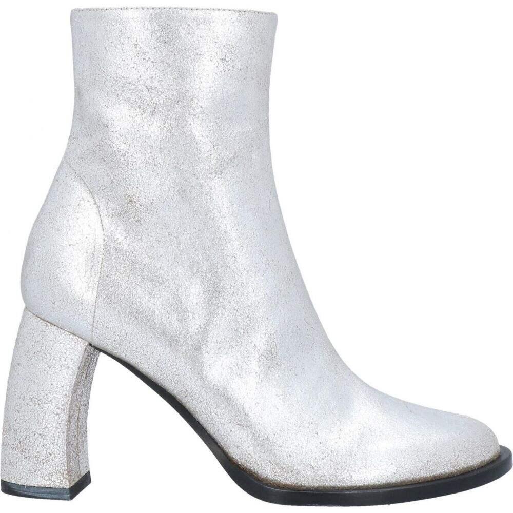 アンドゥムルメステール 日本産 新色追加 レディース シューズ 靴 ブーツ Silver ショートブーツ ANN Ankle DEMEULEMEESTER Boot サイズ交換無料