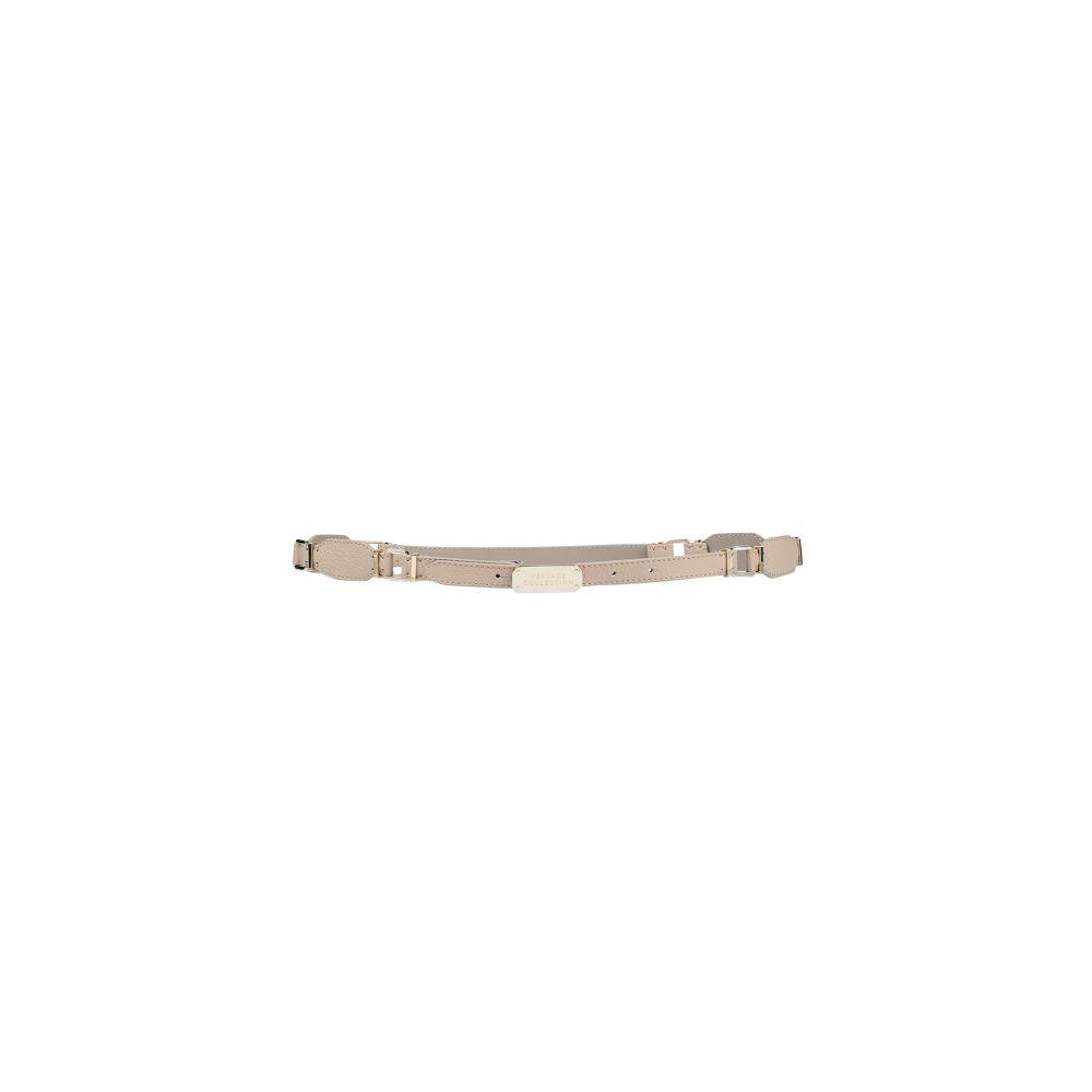 ヴェルサーチ VERSACE COLLECTION レディース ベルト 【thin belt】Beige