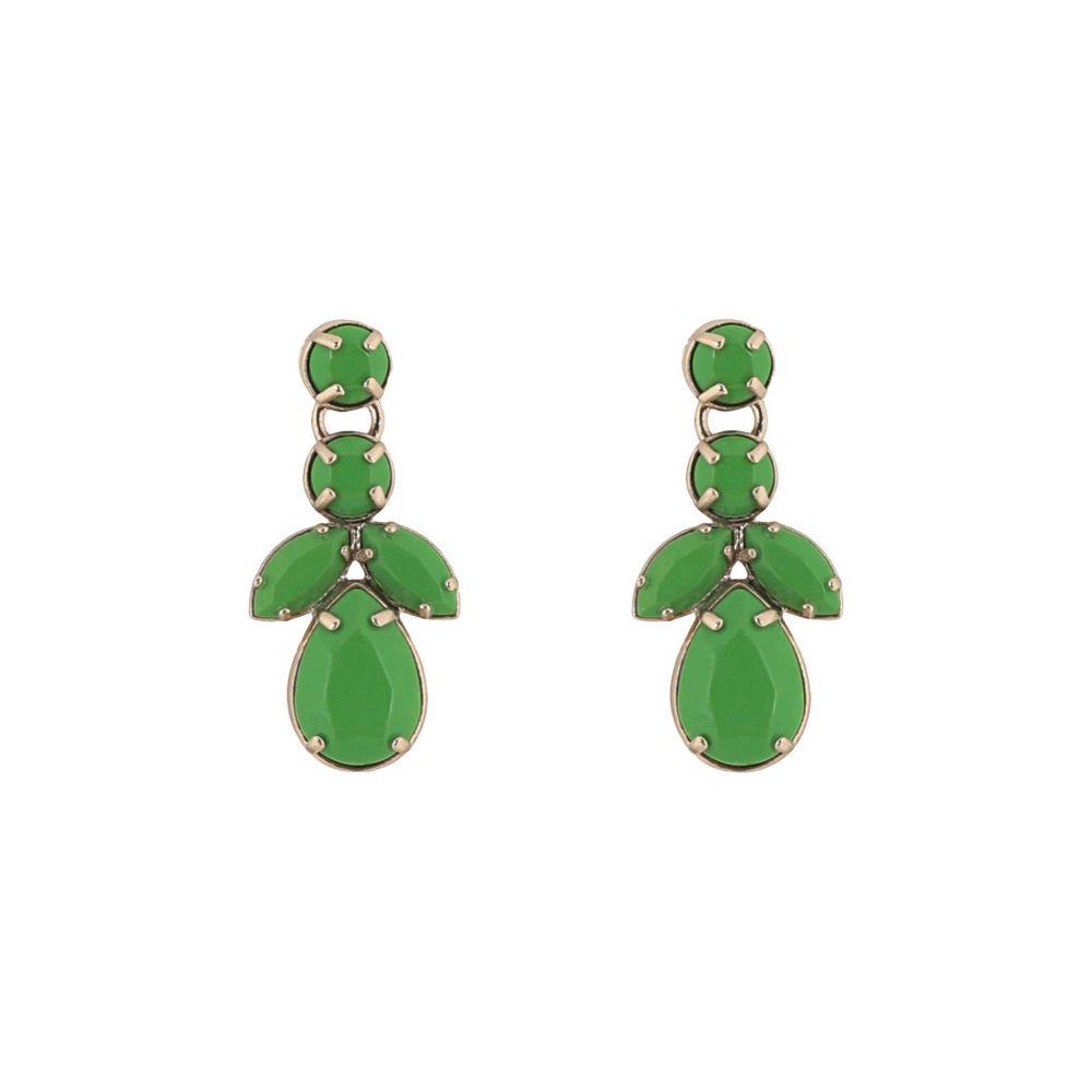 ヴァレンティノ VALENTINO GARAVANI レディース イヤリング・ピアス ジュエリー・アクセサリー【earrings】Green
