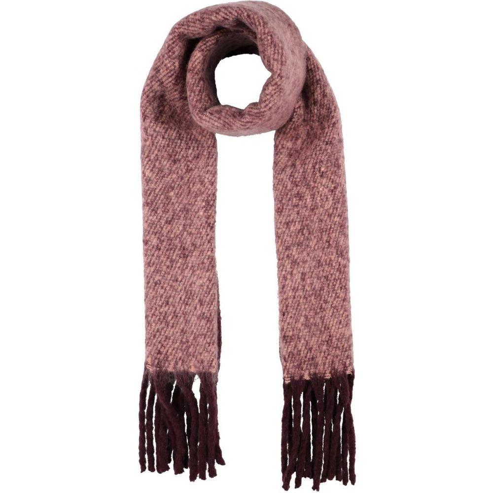 美品 ピーシーズ レディース ファッション小物 マフラー スカーフ ストール Pastel PIECES pink 大幅にプライスダウン Scarve サイズ交換無料