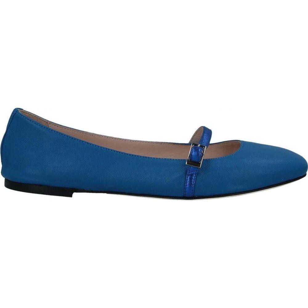 ポリーニ レディース シューズ・靴 スリッポン・フラット Azure 【サイズ交換無料】 ポリーニ POLLINI レディース スリッポン・フラット シューズ・靴【Ballet Flat】Azure