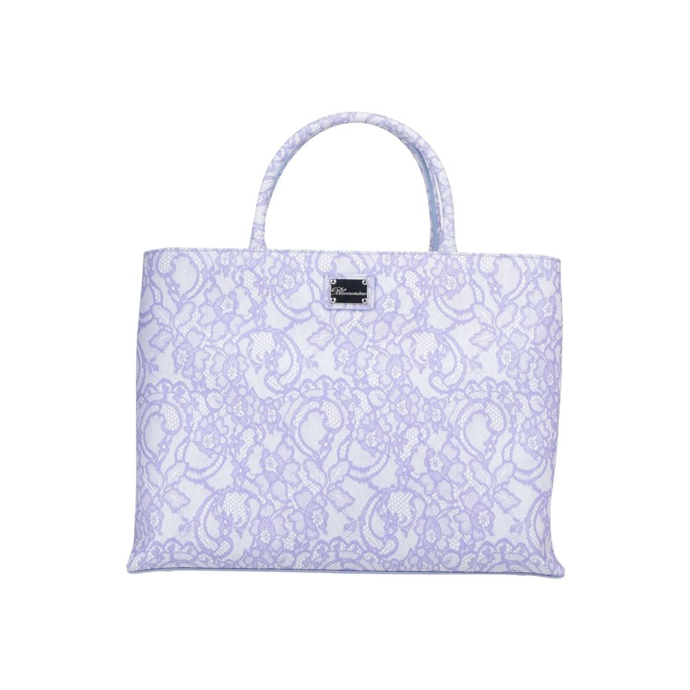 ブルマリン レディース 供え バッグ ハンドバッグ Light サイズ交換無料 BLUMARINE 海外輸入 purple Handbag