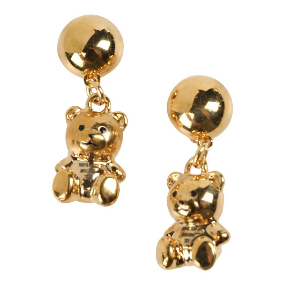 モスキーノ レディース ジュエリー・アクセサリー イヤリング・ピアス Gold 【サイズ交換無料】 モスキーノ MOSCHINO レディース イヤリング・ピアス ジュエリー・アクセサリー【earrings】Gold