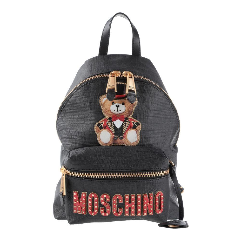 モスキーノ レディース バッグ その他バッグ Black 【サイズ交換無料】 モスキーノ MOSCHINO レディース バッグ 【backpack  fanny pack】Black