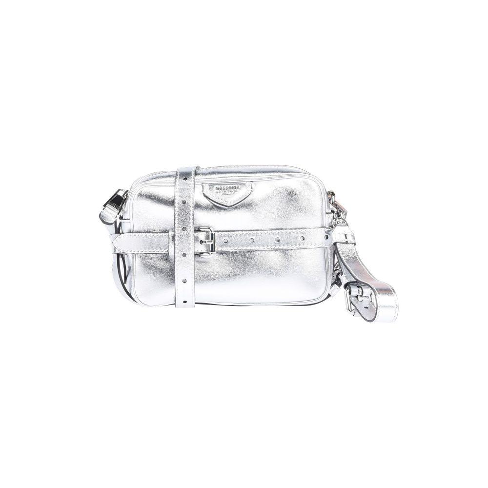 モスキーノ MOSCHINO レディース ハンドバッグ バッグ【handbag】Silver