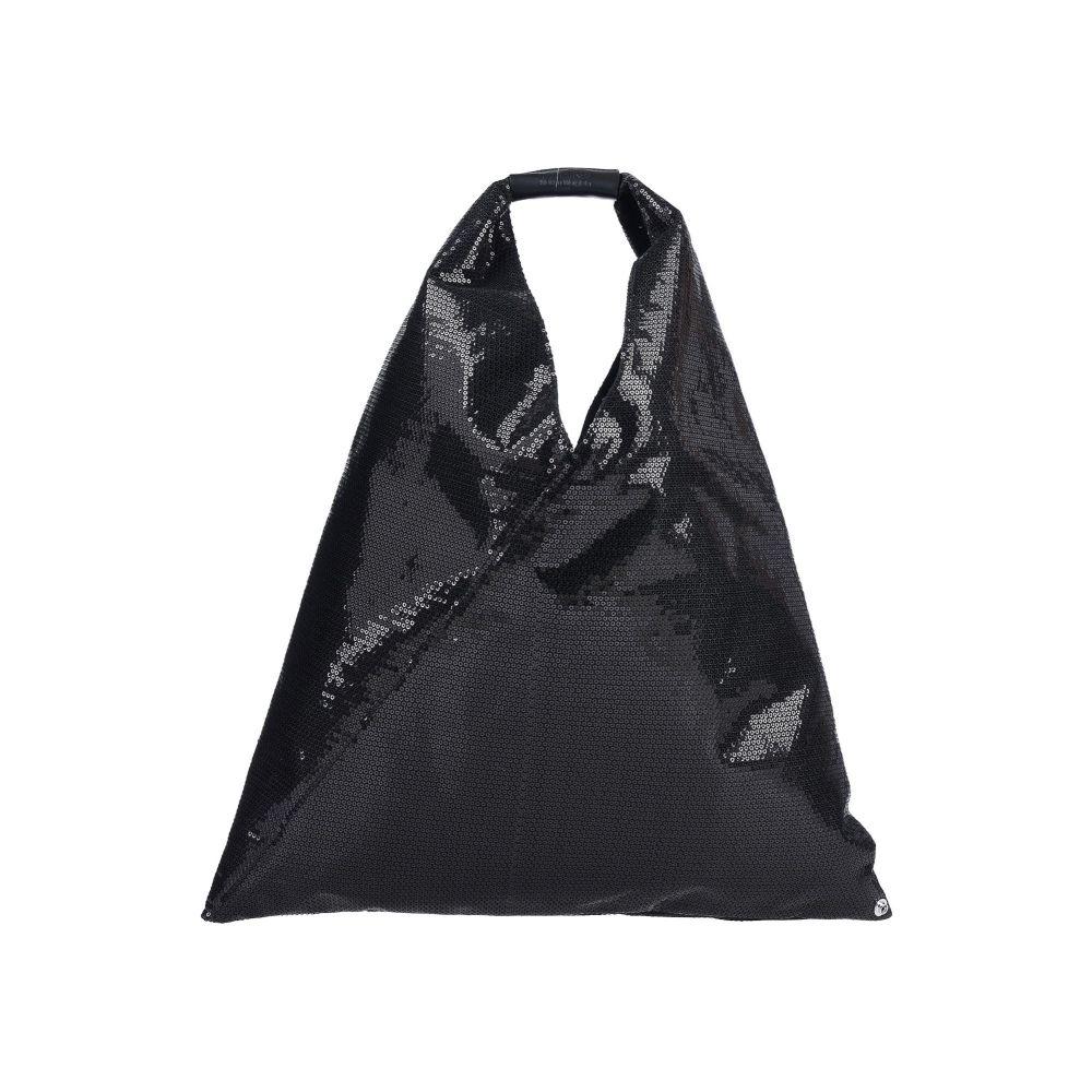 メゾン 売れ筋 マルジェラ 新品■送料無料■ MM6 MAISON MARGIELA バッグ ハンドバッグ handbag Black レディース