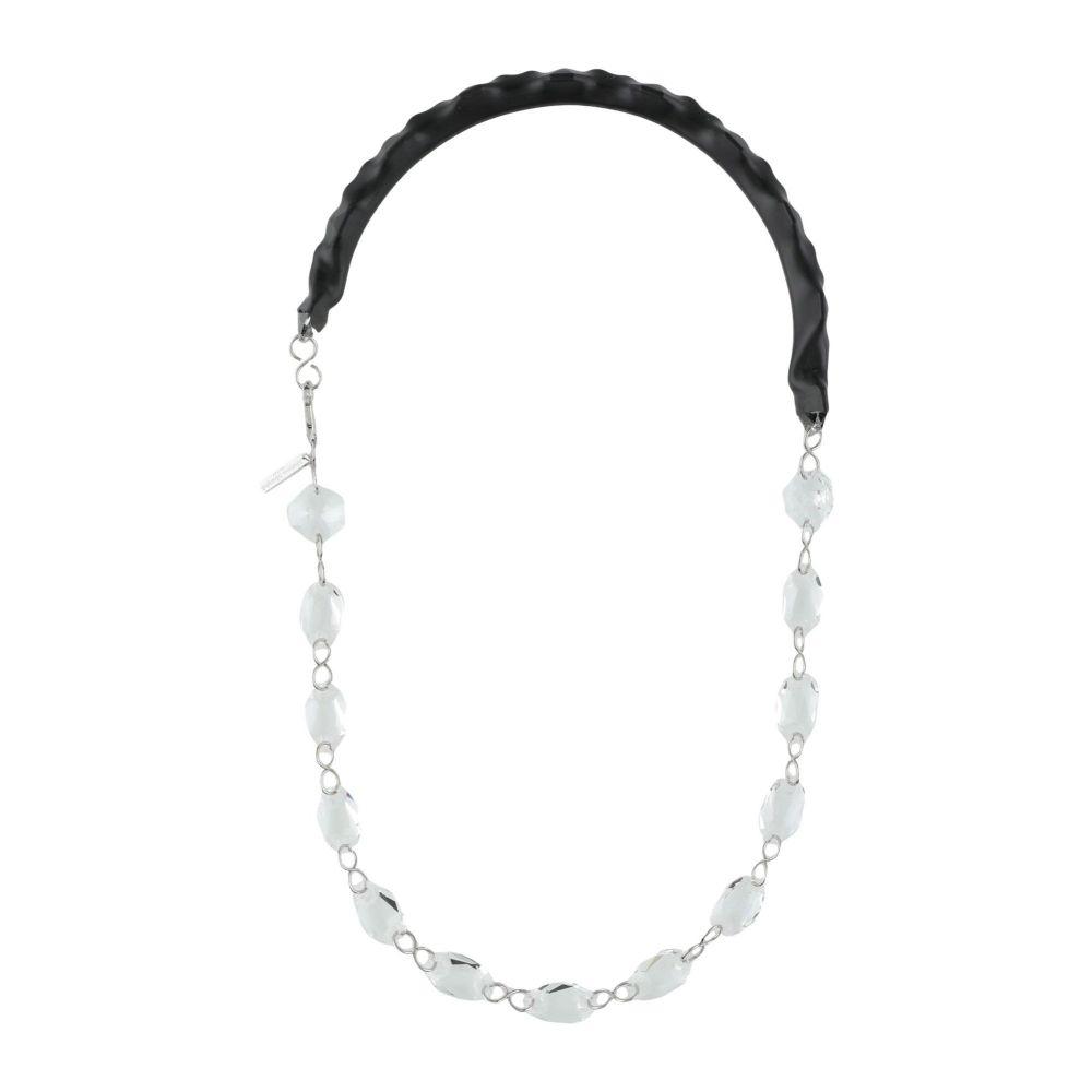 メゾン マルジェラ MAISON MARGIELA レディース ネックレス ジュエリー・アクセサリー【necklace】Black