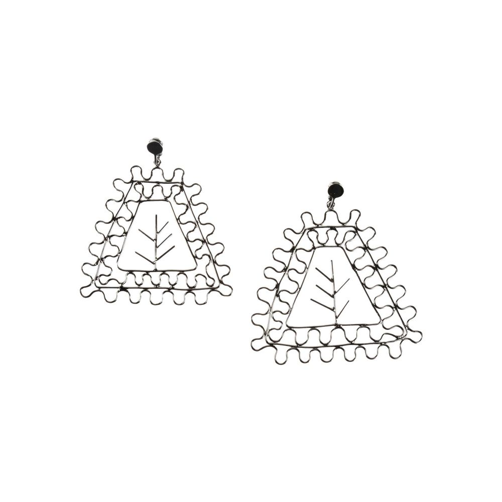 メゾン マルジェラ MAISON MARGIELA レディース イヤリング・ピアス ジュエリー・アクセサリー【earrings】Steel grey