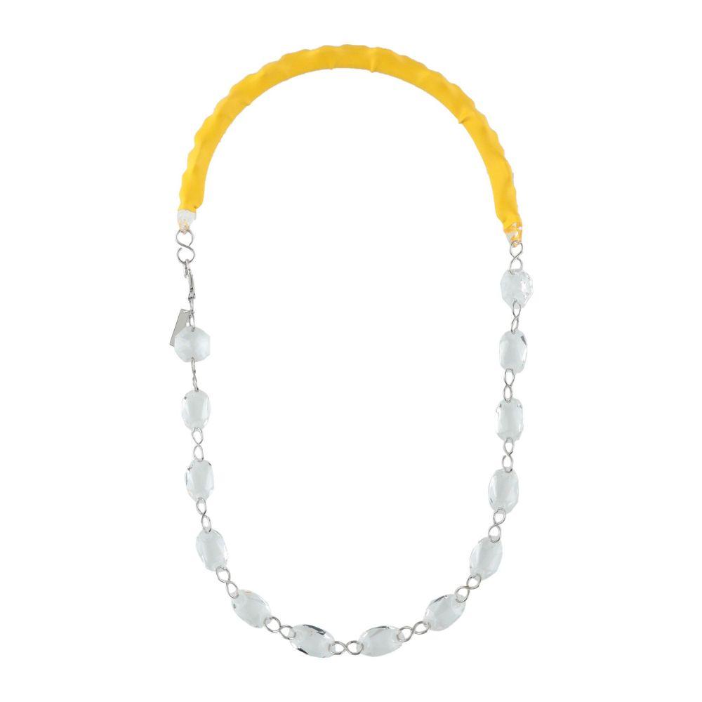 メゾン マルジェラ MAISON MARGIELA レディース ネックレス ジュエリー・アクセサリー【necklace】Yellow