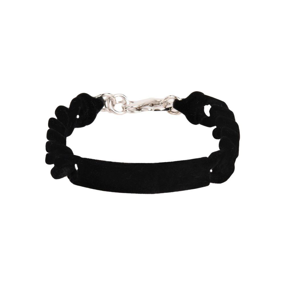 メゾン マルジェラ MM6 MAISON MARGIELA レディース ブレスレット ジュエリー・アクセサリー【bracelet】Black