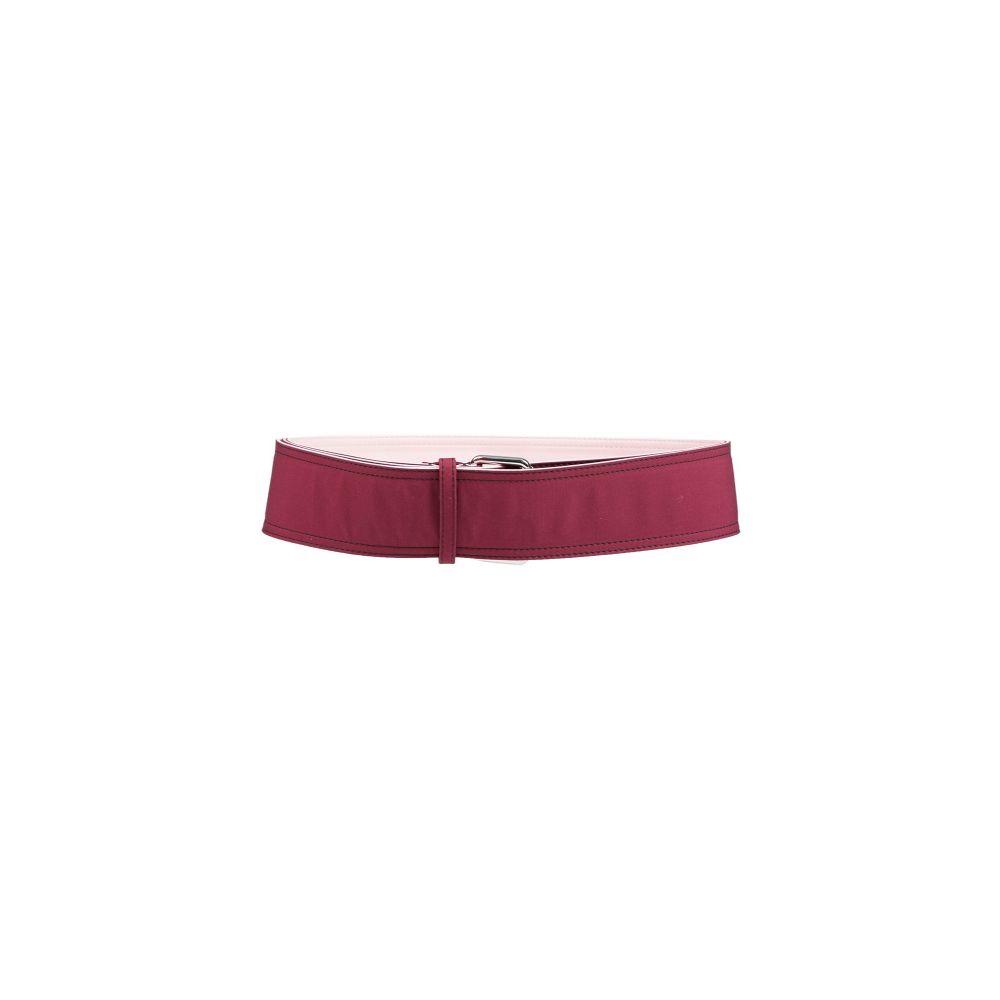 マルニ MARNI レディース ベルト 【high-waist belt】Maroon