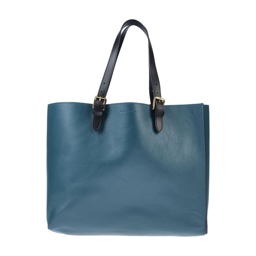 マルニ MARNI レディース ハンドバッグ バッグ【handbag】Deep jade