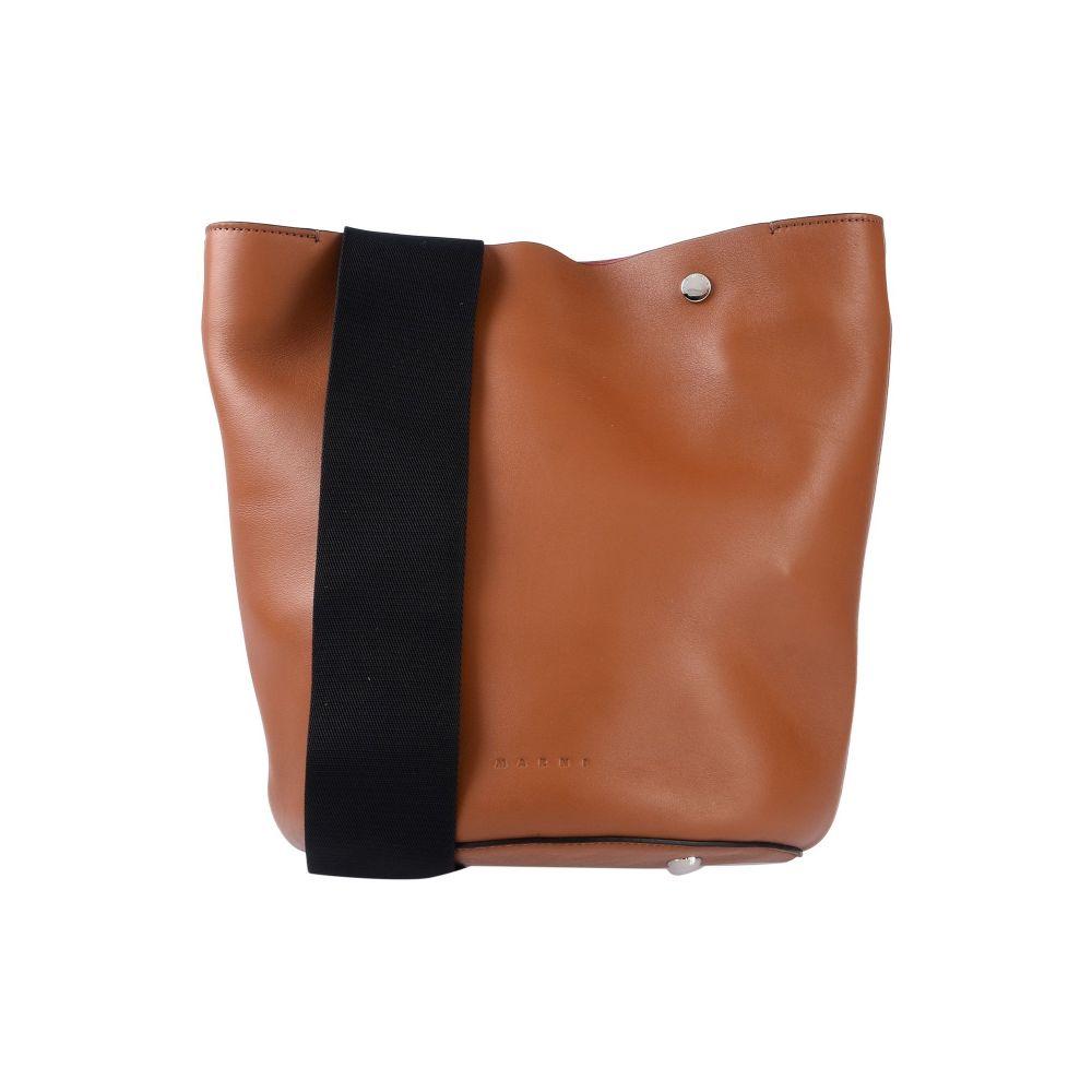 マルニ MARNI レディース ショルダーバッグ バッグ【shoulder bag】Tan