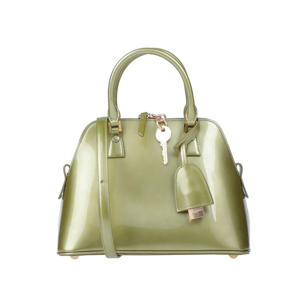 メゾン 上品 マルジェラ MAISON MARGIELA レディース Light handbag ハンドバッグ バッグ green 日本産