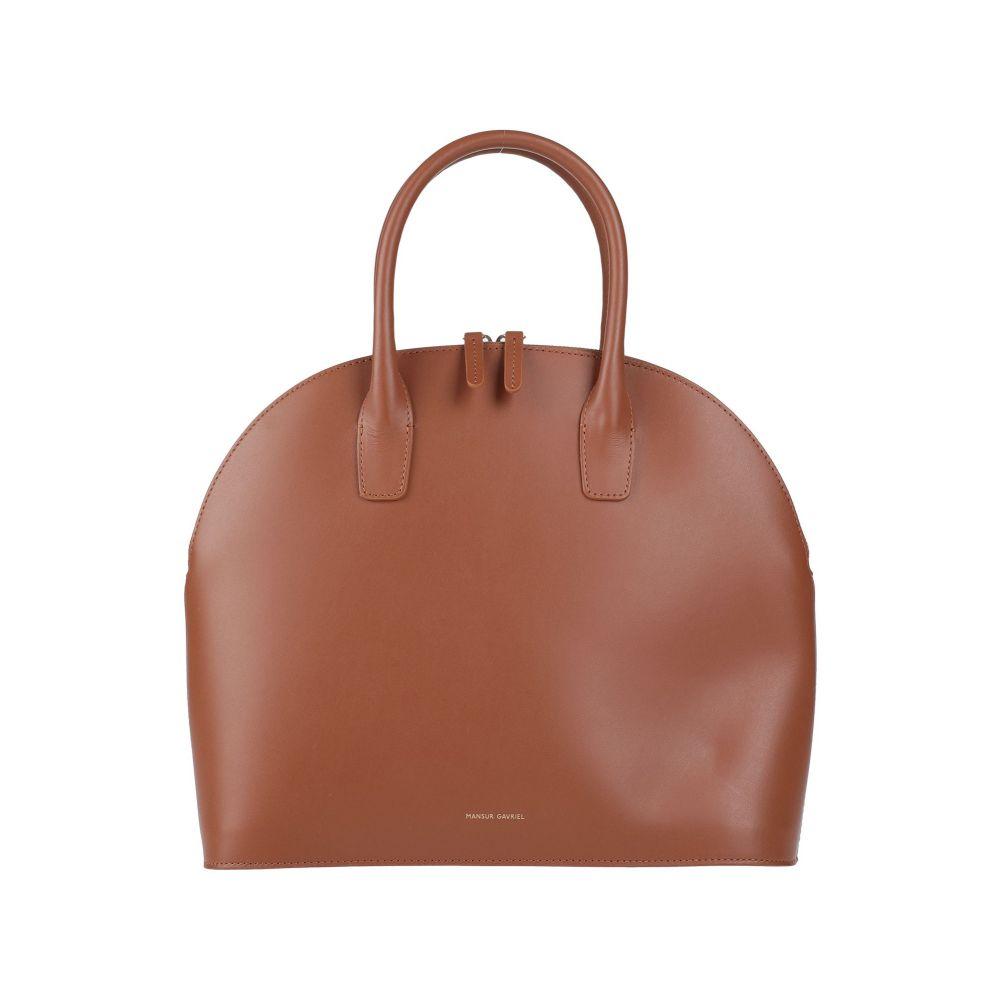 セール マンサーガブリエル MANSUR GAVRIEL レディース バッグ お見舞い handbag Camel ハンドバッグ