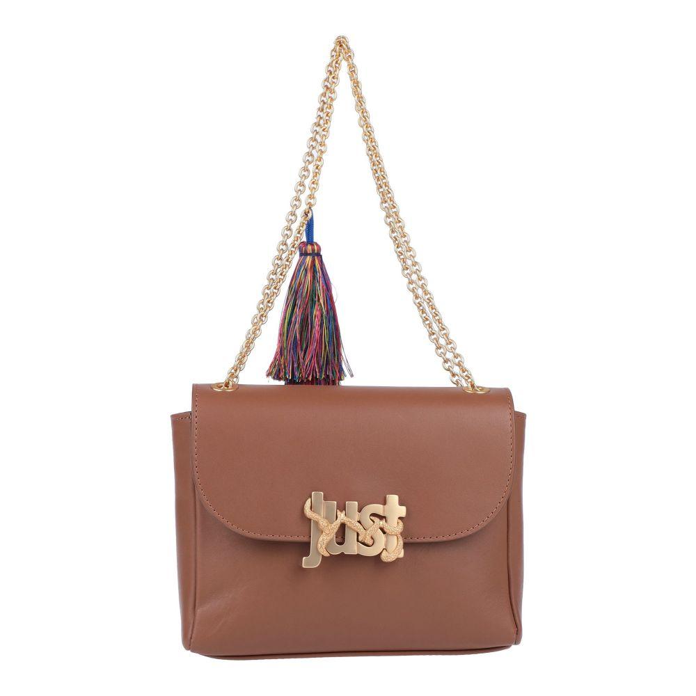 ジャストカヴァッリ JUST CAVALLI レディース ☆送料無料☆ 当日発送可能 Brown バッグ handbag 格安店 ハンドバッグ