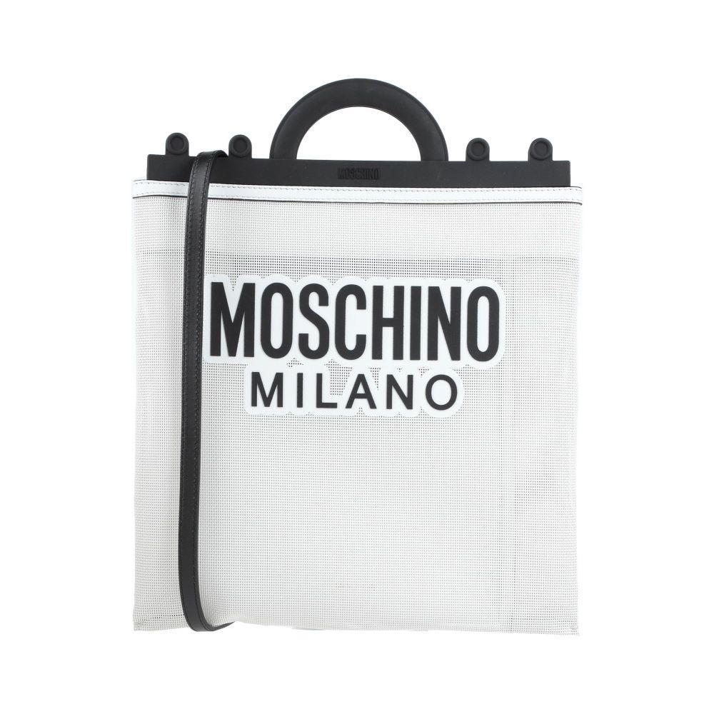 日本未発売 モスキーノ MOSCHINO レディース ハンドバッグ White バッグ バーゲンセール handbag