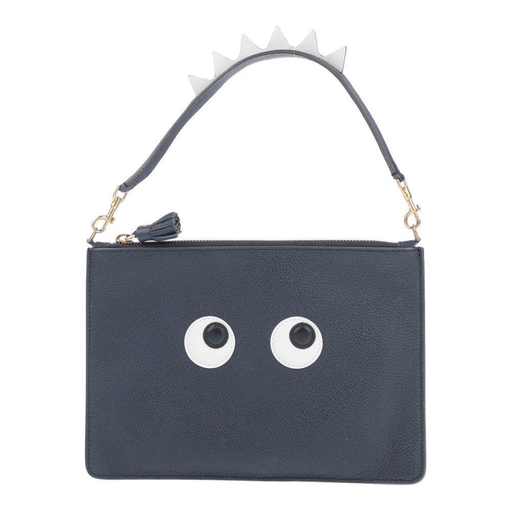アニヤ ハインドマーチ ANYA OUTLET SALE HINDMARCH レディース handbag 新品未使用 Dark ハンドバッグ バッグ blue