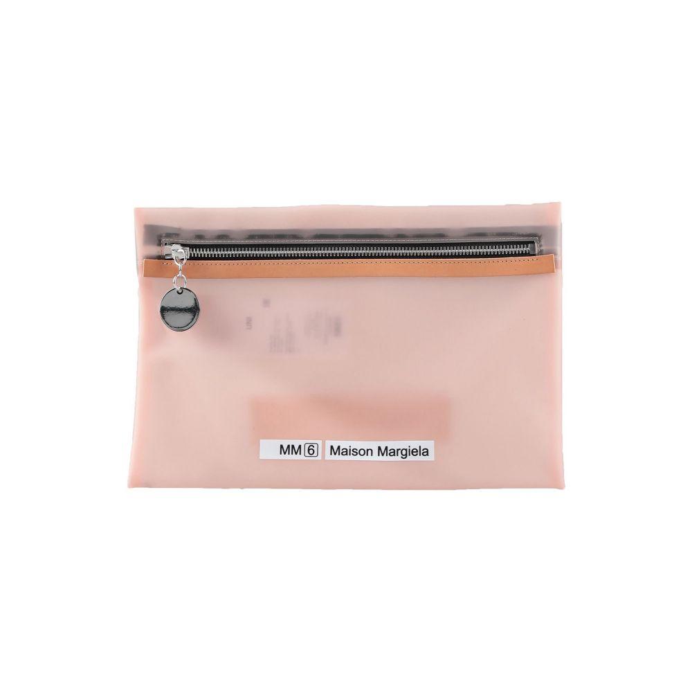 メゾン マルジェラ MM6 MAISON 新発売 MARGIELA レディース handbag アウトレット☆送料無料 pink バッグ Pale ハンドバッグ